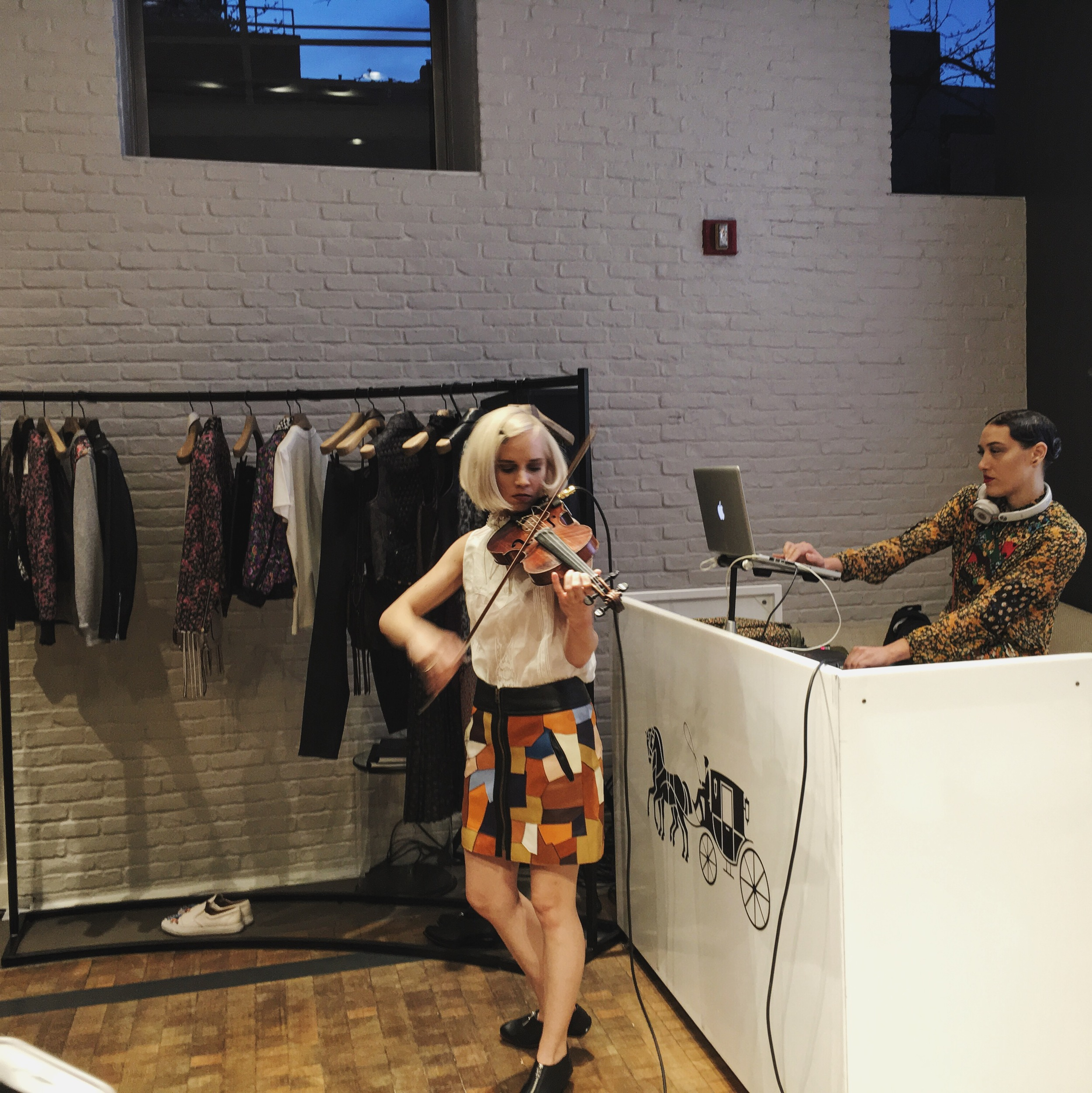 The Dolls at Coach 1941 Spring Street Store
