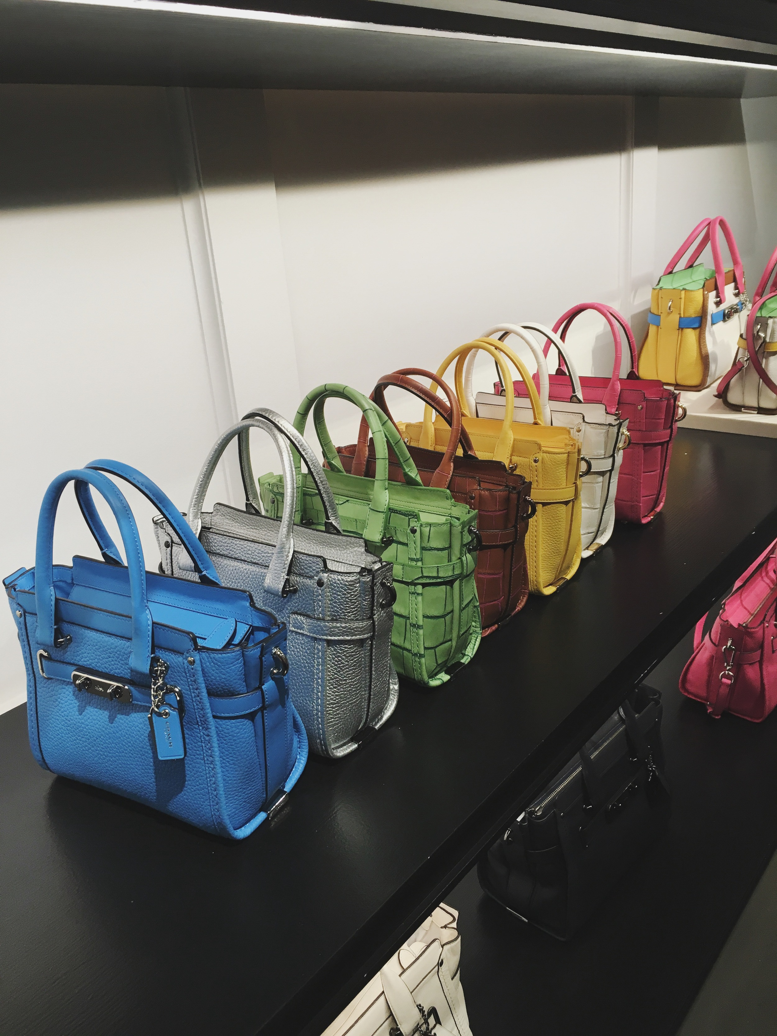Coach Swagger Bags in Various Colors