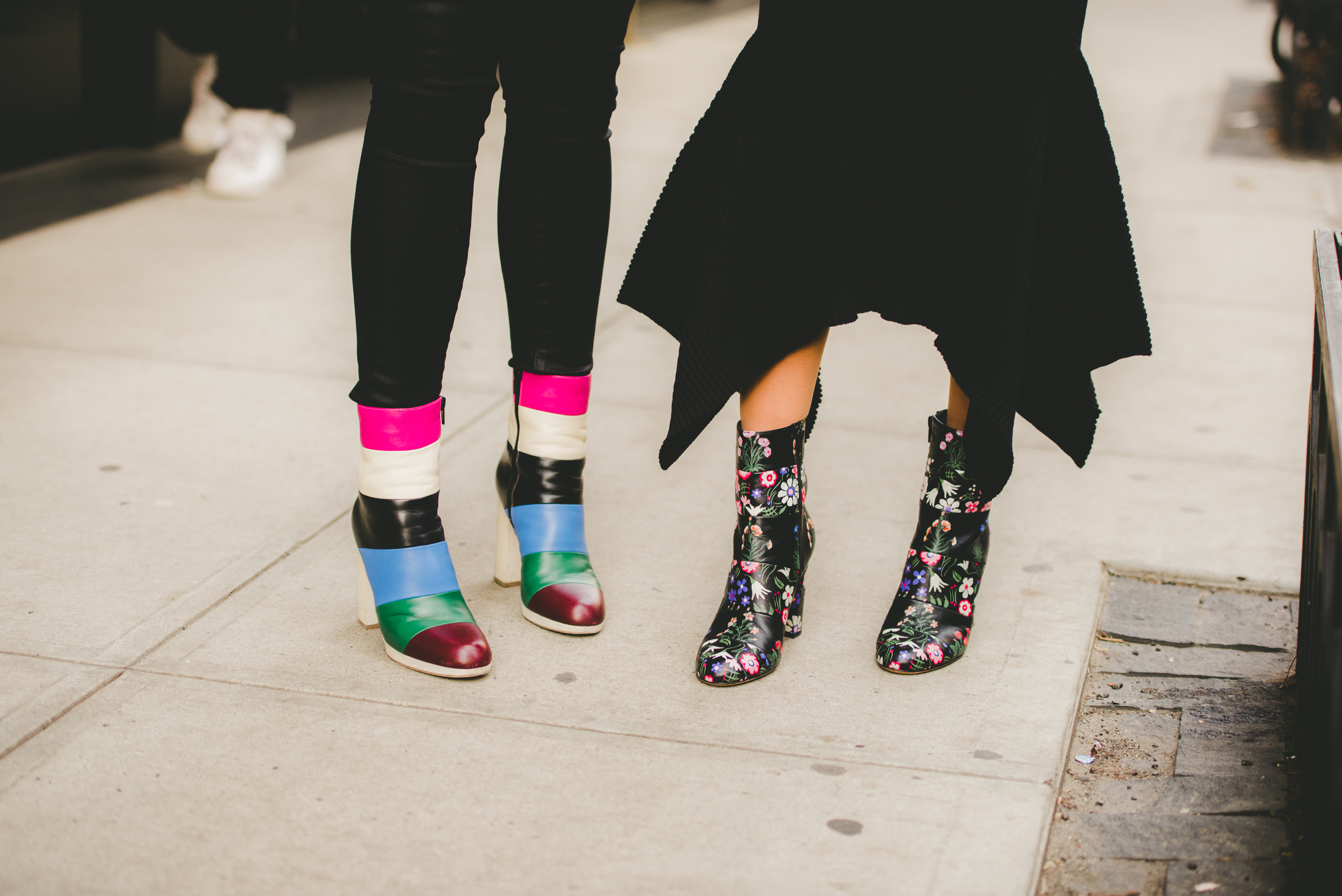 NYC Street Style Valentino Boots
