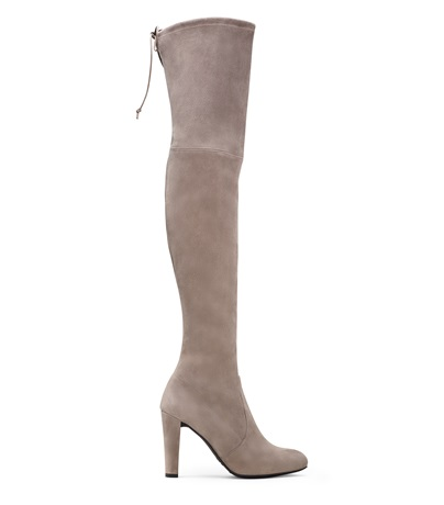 Taupe Highland Boots