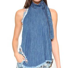 MARQUES ALMEIDA DENIM TOP