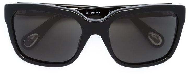 LINDA FARROW RECTANGLE SUNGLASSES
