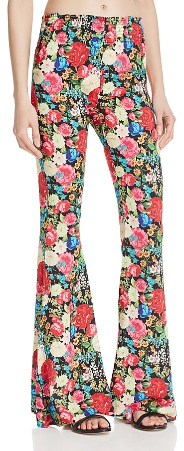 WILDFOX FLORAL PANTS