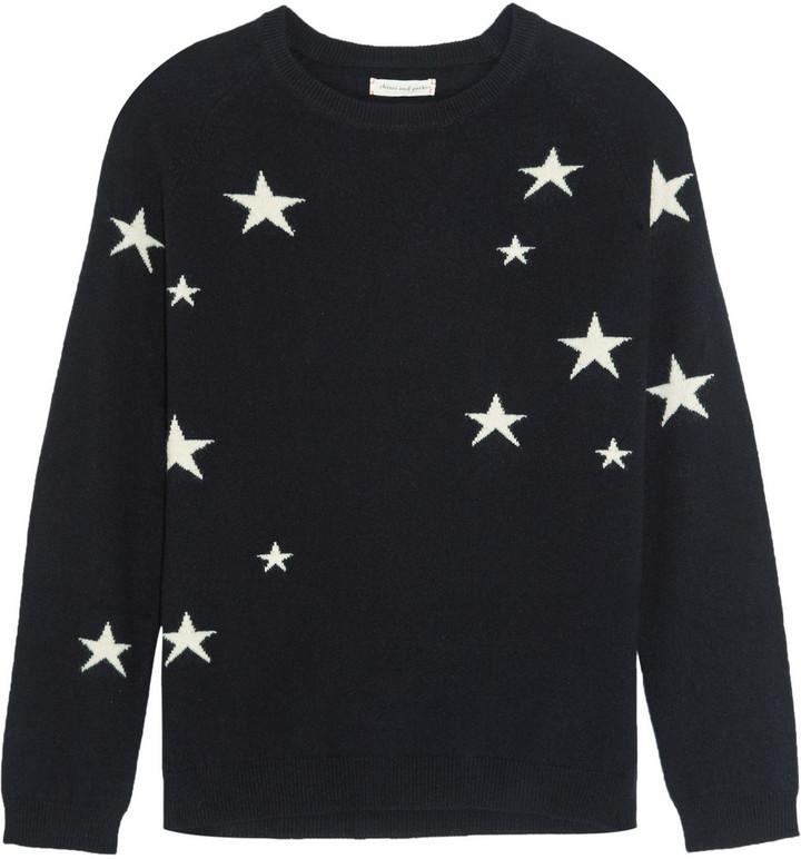 CHINTI & PARKER STAR SWEATER