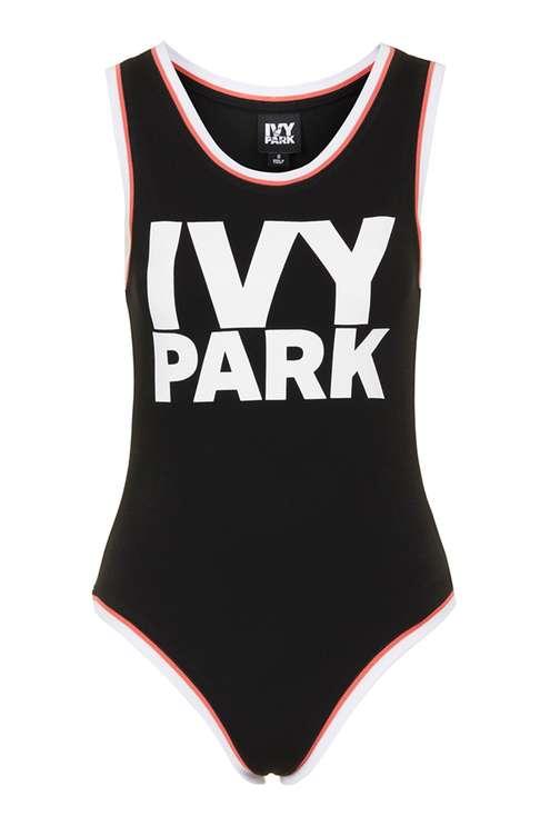 BLACK IVY PARK LOGO BODYSUIT