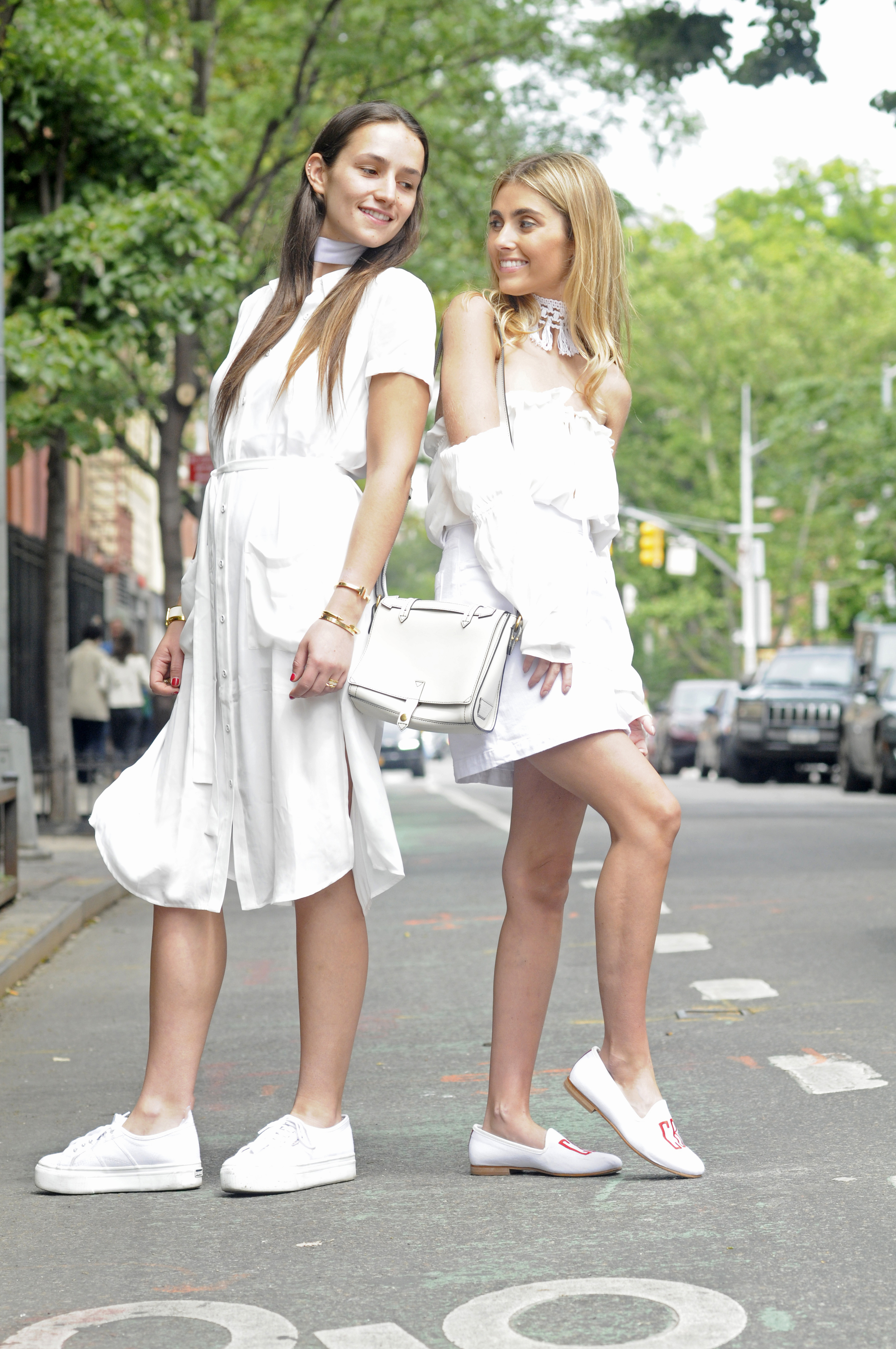 NYC STREET STYLE SISTER FASHION BLOGGERS BICKLEYS