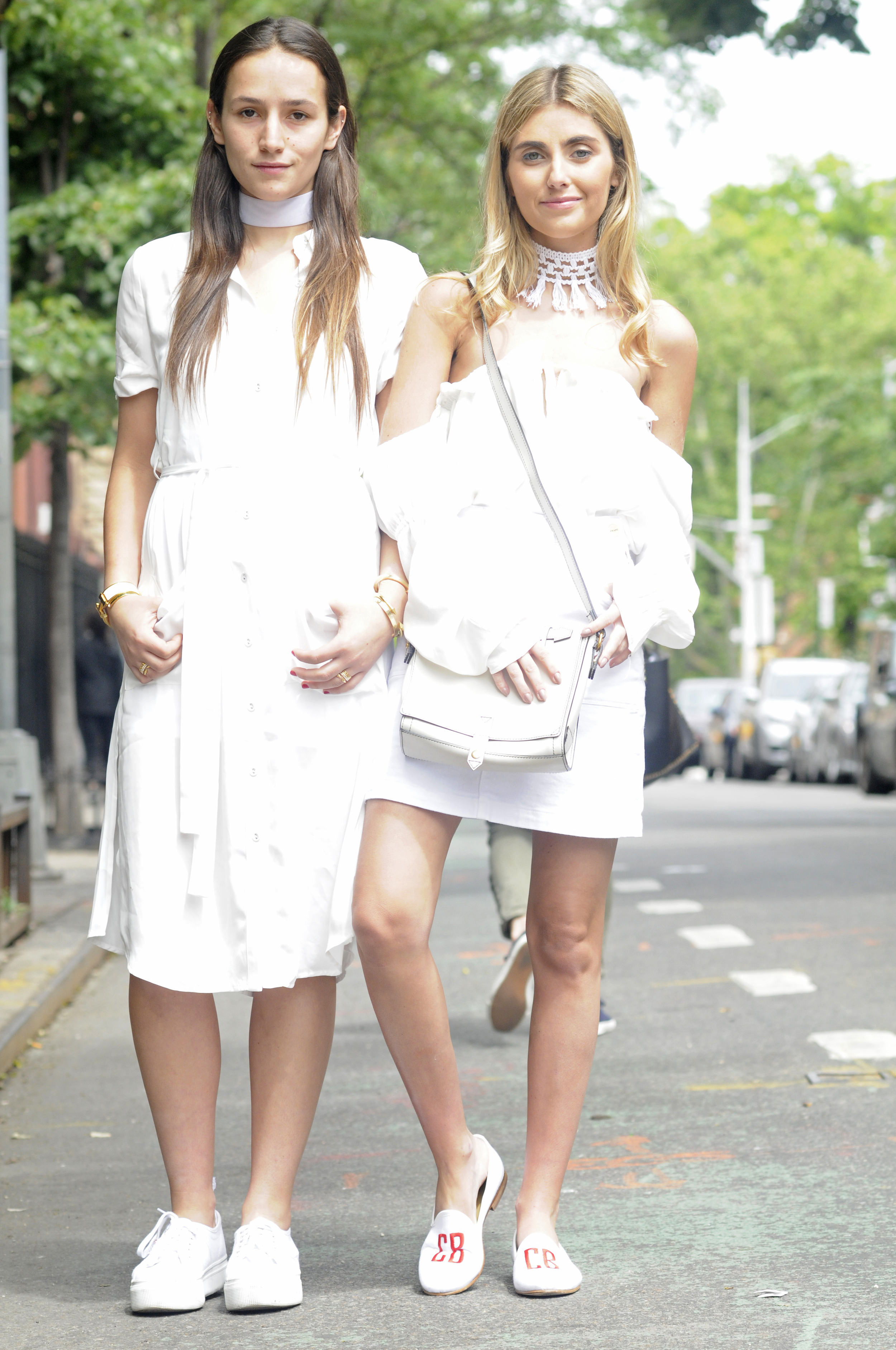 NYC BICKLEY SISTER FASHION BLOGGERS NYC STREET STYLE
