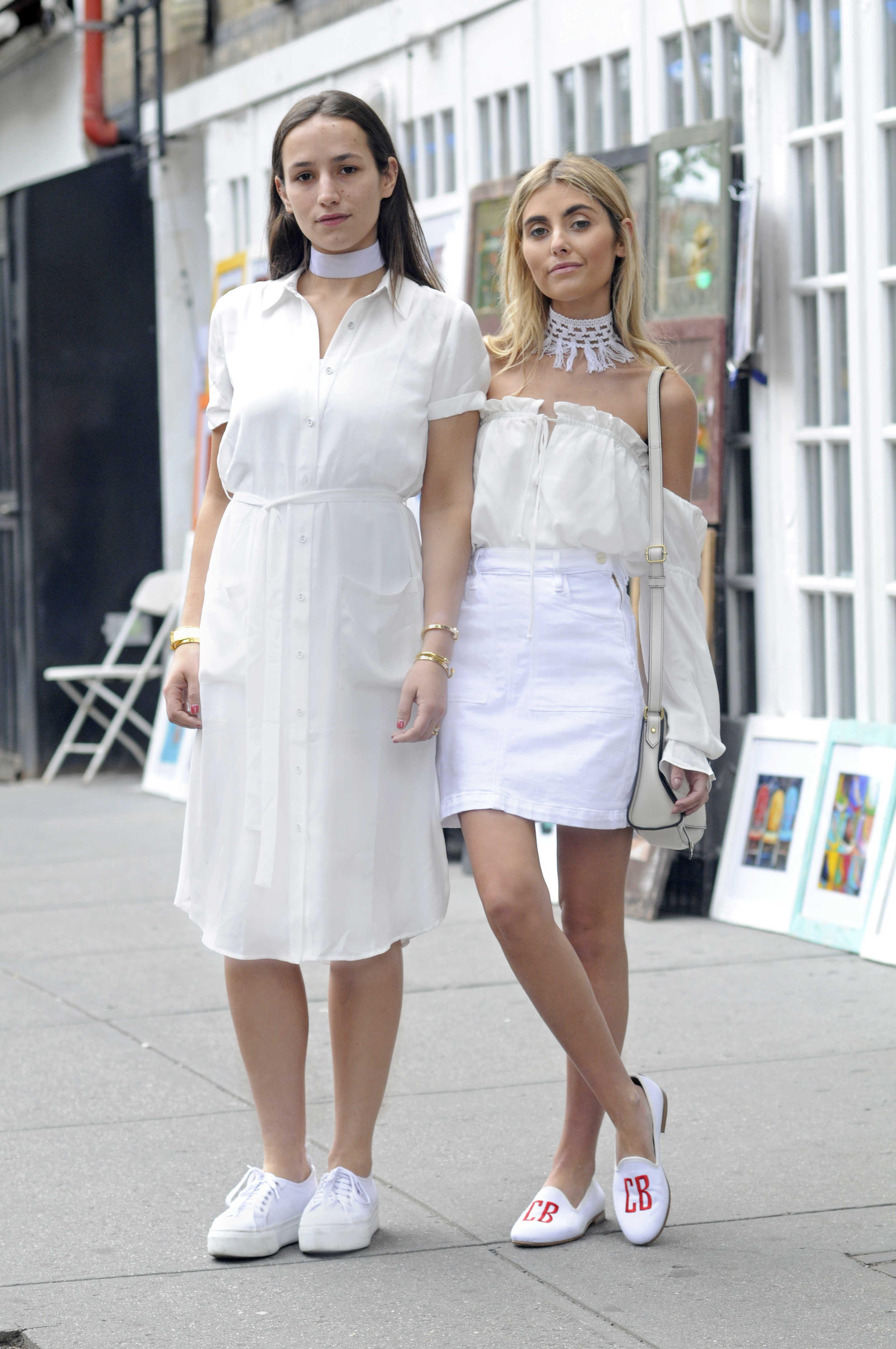 NYC STREET STYLE FASHION BLOGGERS ALL WHITE