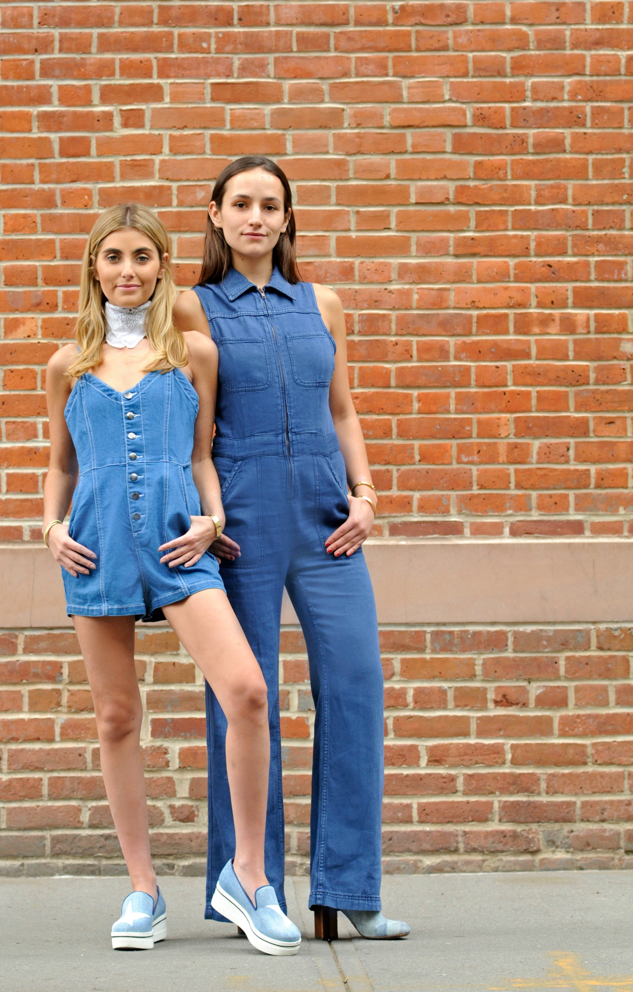NYC YIN 2MY YANG BICKLEY SISTERS STREET STYLE