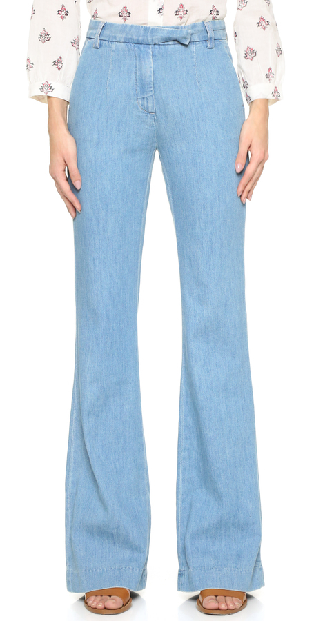 CURRENT/ELLIOT HIGH RISE FLARE JEANS