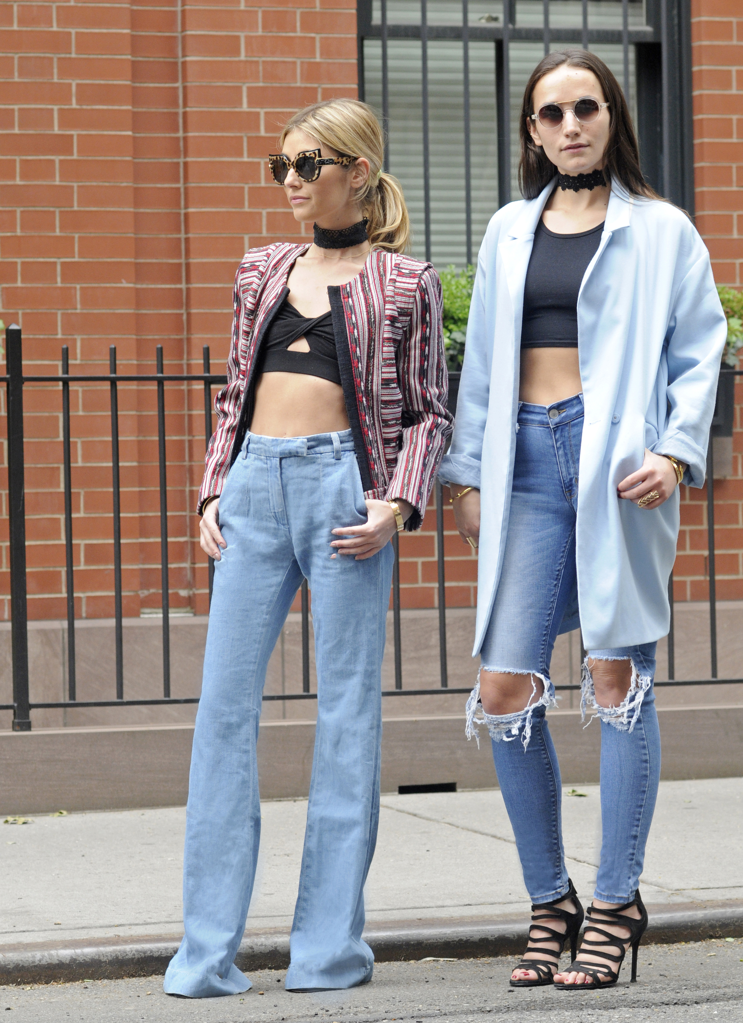 NYC STREET STYLE SISTER BLOGGERS SOPHIE AND CHARLOTTE BICKLEY