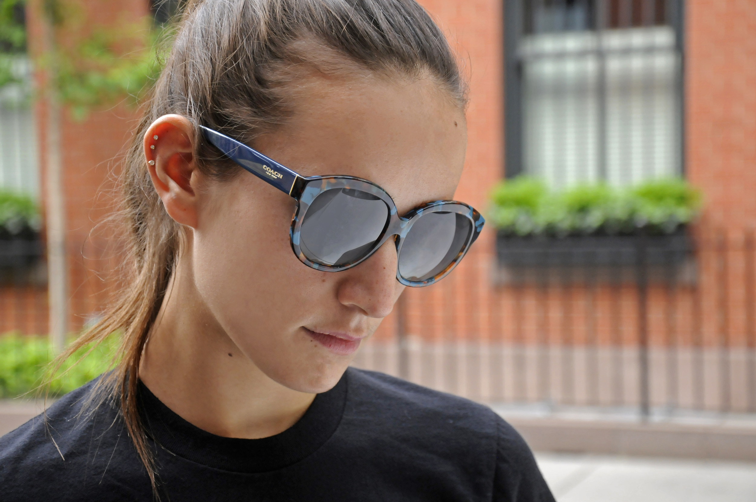 SOPHIE BICKLEY YIN 2MY YANG COACH SUNGLASSES