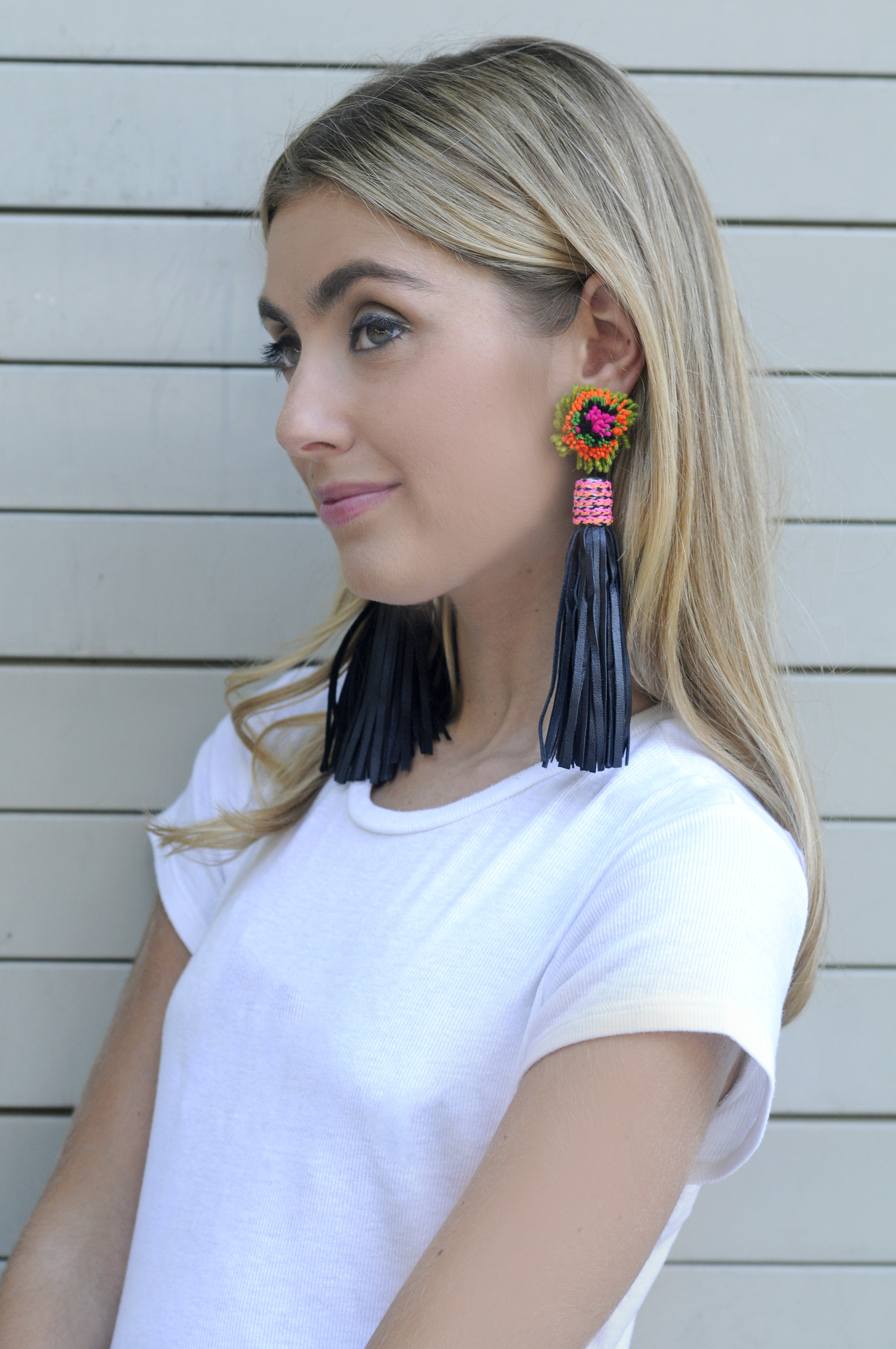 MIGNONNE GAVIGAN 'AUDREY' EARRINGS CHARLOTTE BICKLEY YIN 2MY YANG