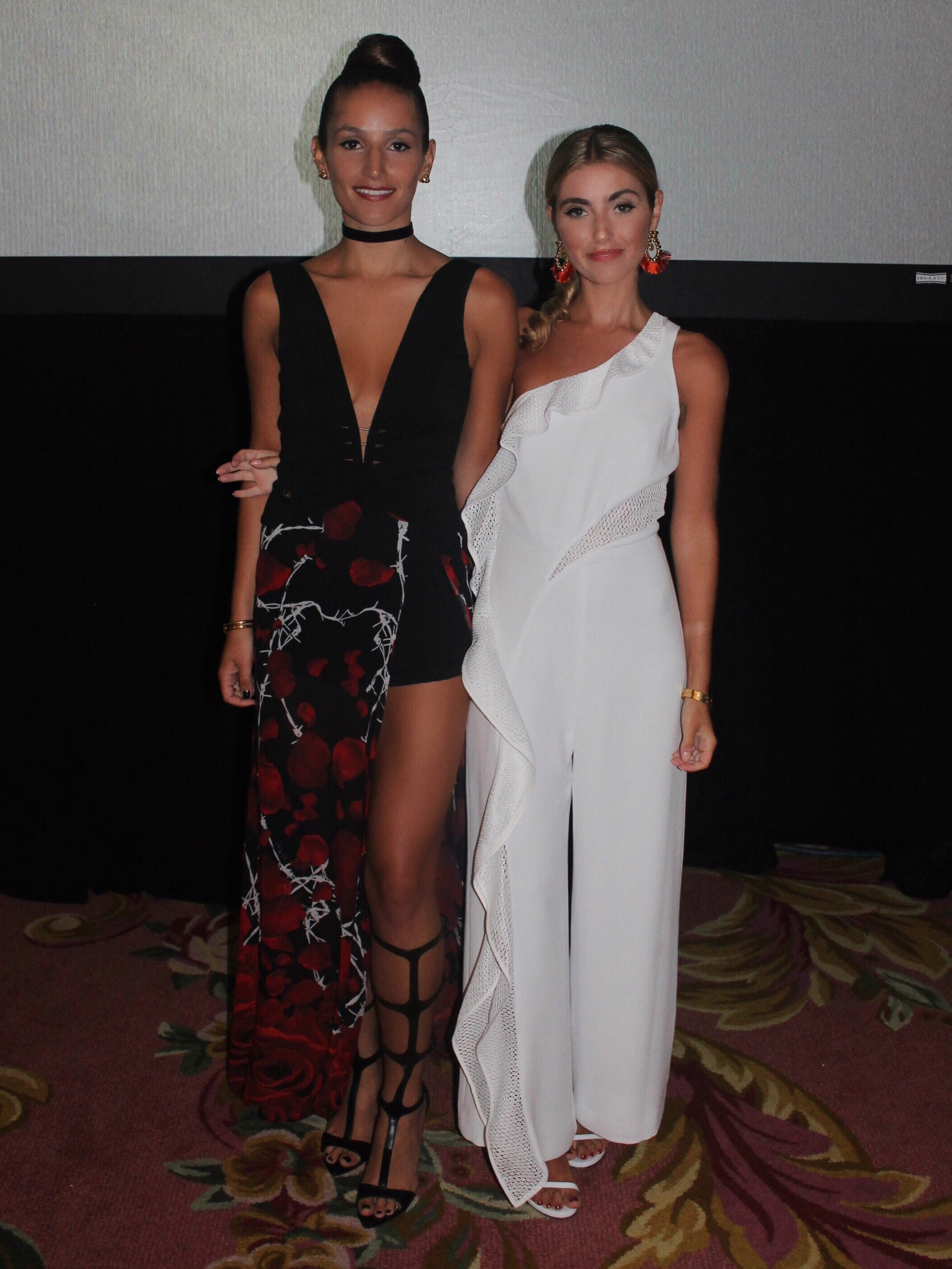 SOPHIE AND CHARLOTTE YIN 2MY YANG BERMUDA FASHION FESTIVAL GALA