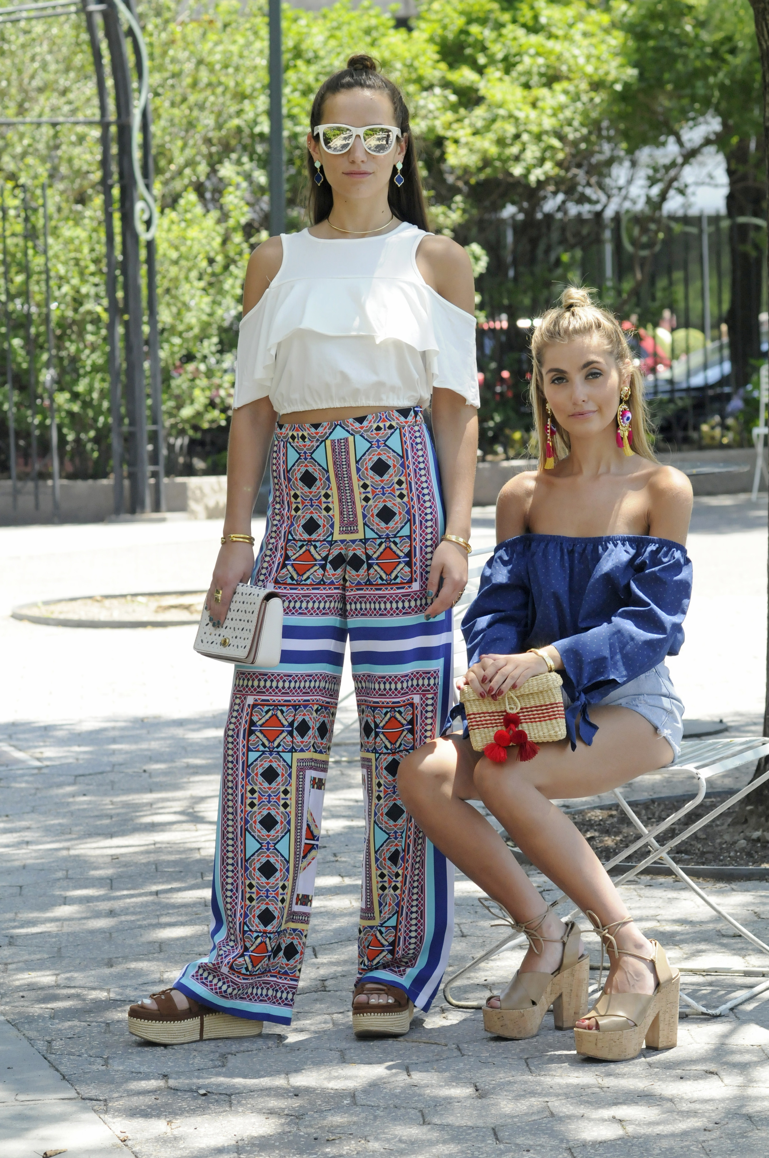 SOPHIE AND CHARLOTTE BICKLEY FASHION BLOGGERS NYC YIN 2MY YANG