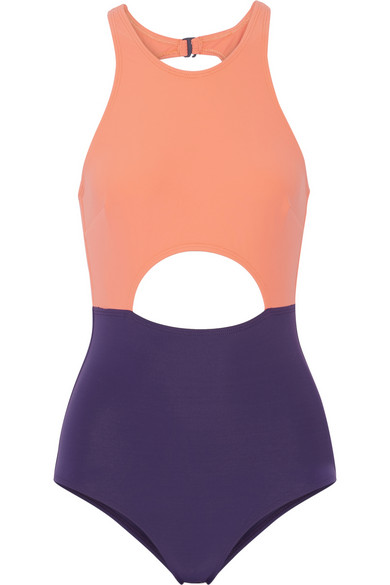 FLAGPOLE SWIM 'VERA' COLOR BLOCK ONE PIECE