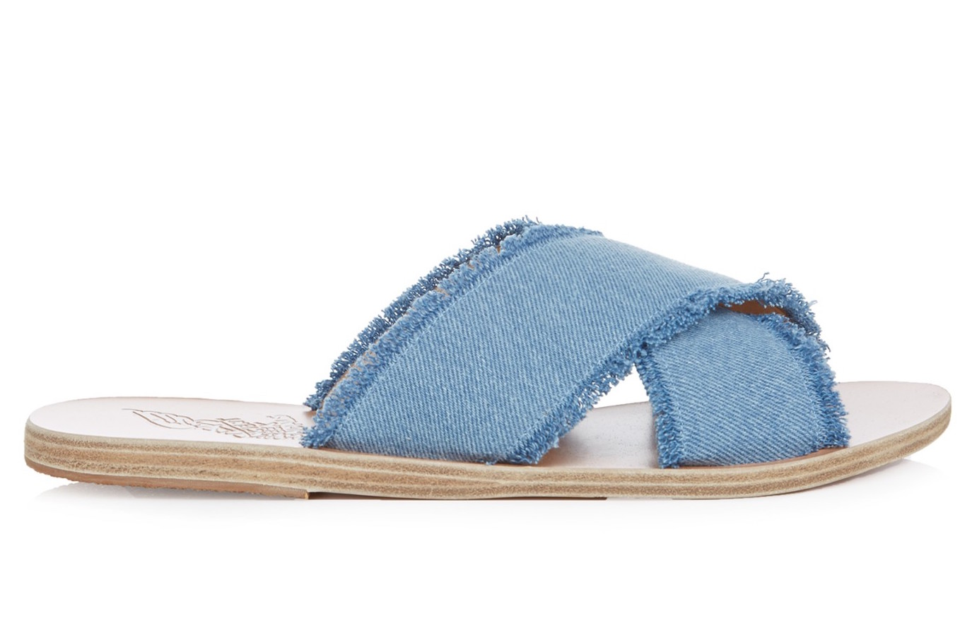 'THAIS' DENIM ANCIENT GREEK SANDALS