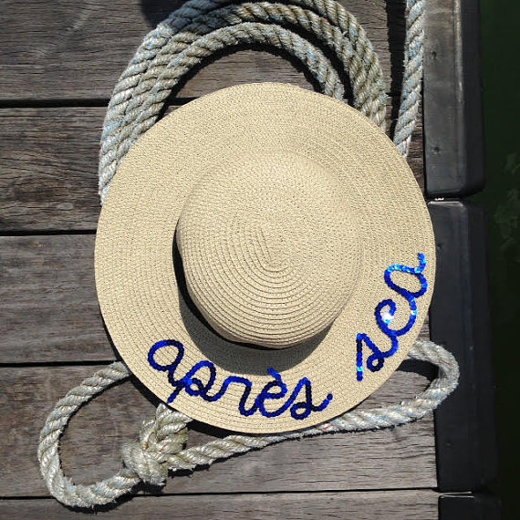 HATS BY OLIVIA CUSTOM BOATER HAT