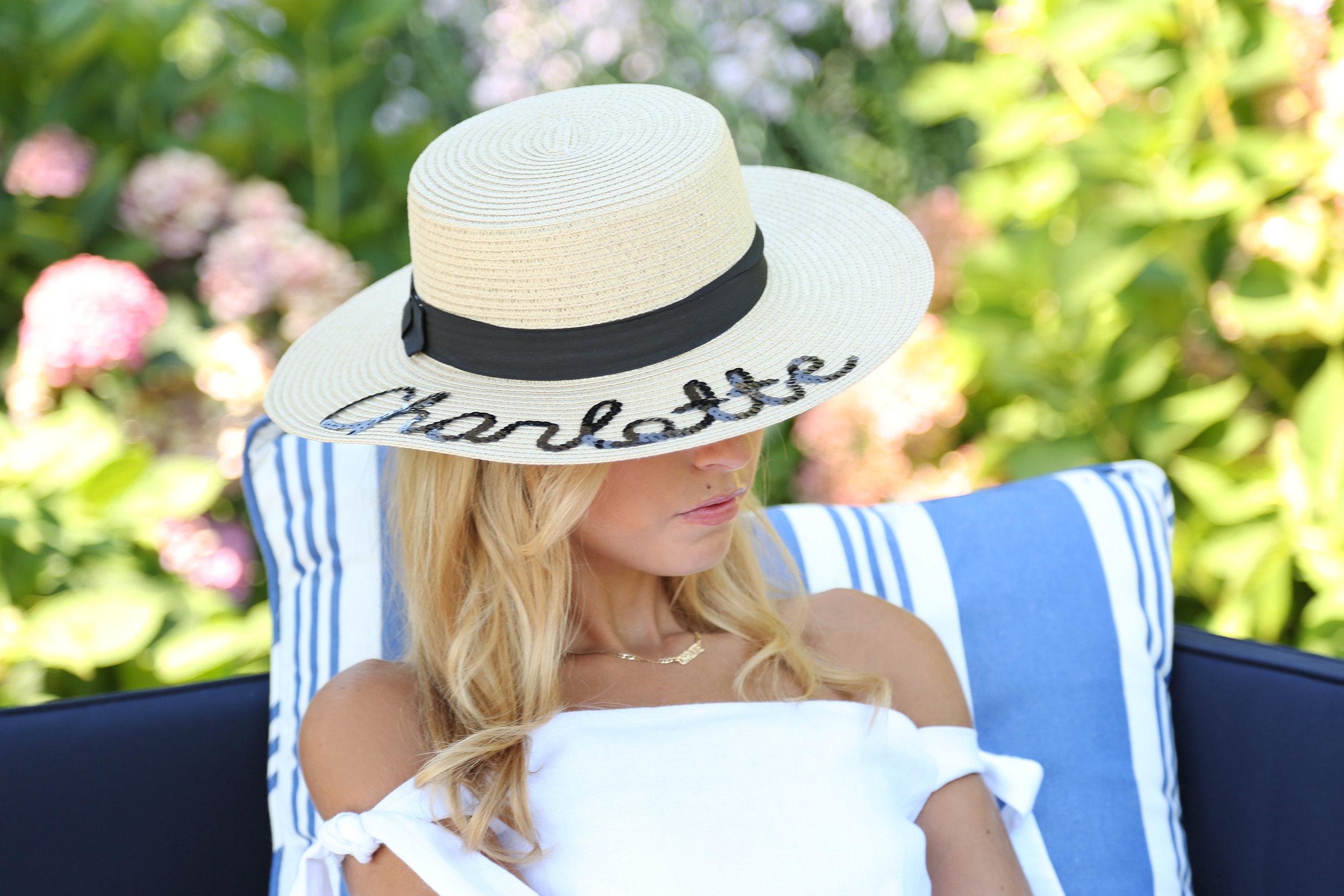 CHARLOTTE BICKLEY YIN 2MY YANG SISTER BLOGGERS STRAW HATS