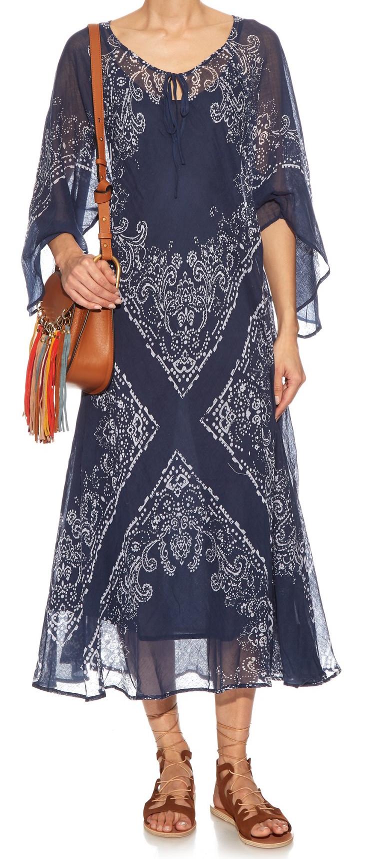 MES DEMOISELLES 'BONITA' BANDANA PRINT DRESS