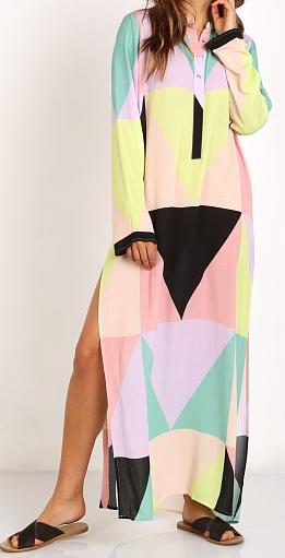 MARA HOFFMAN 'MOSAIC' MAXI DRESS