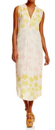 MARA HOFFMAN STAR PRINT MAXI DRESS