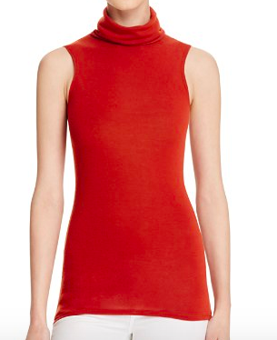 ALICE AND OLIVIA 'FARLEY' TURTLENECK TANK