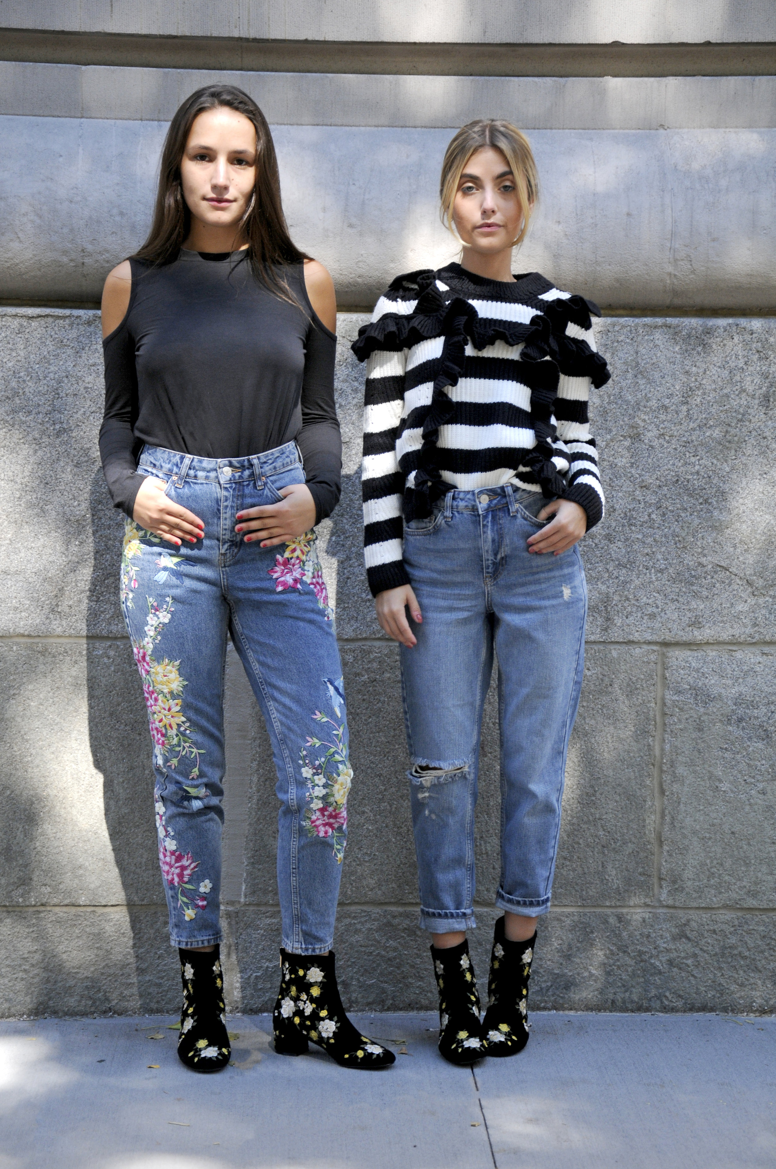 SOPHIE AND CHARLOTTE BICKLEY YIN 2MY YANG SISTER BLOGGER TOPSHOP 2016