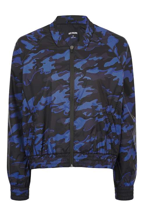 TOPSHOP CAMO BOMBER BY IVY PARK