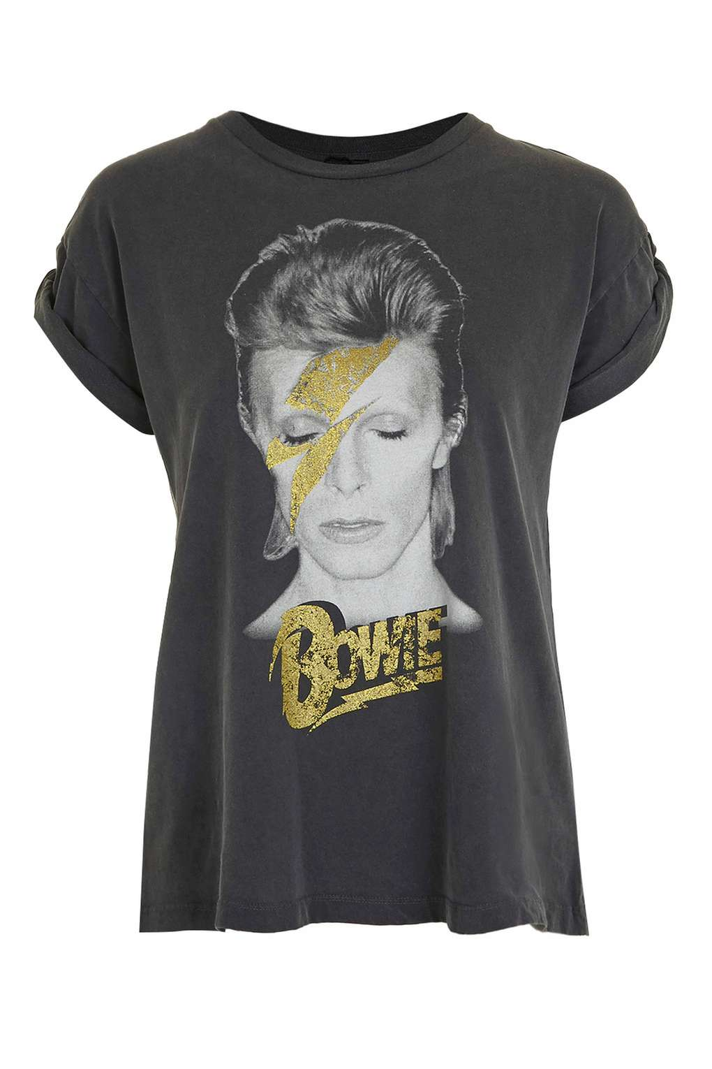 TOPSHOP BOWIE GRAPHIC TEE BY AND FINALLY