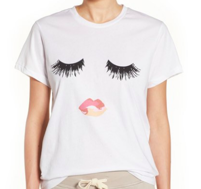 SINCERELY JULES 'LUSHES LASHES' GRAPHIC TEE