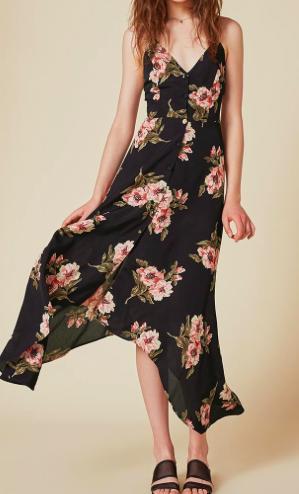 REFORMATION 'SAVANAH' FLORAL DRESS