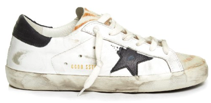 GOLDEN GOOSE DELUXE BRAND SUPER STAR LOW TOP ANIMAL PRINT SNEAKERS