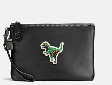 COACH VARSITY REXY PATCHES TURNLOCK WRISTLET