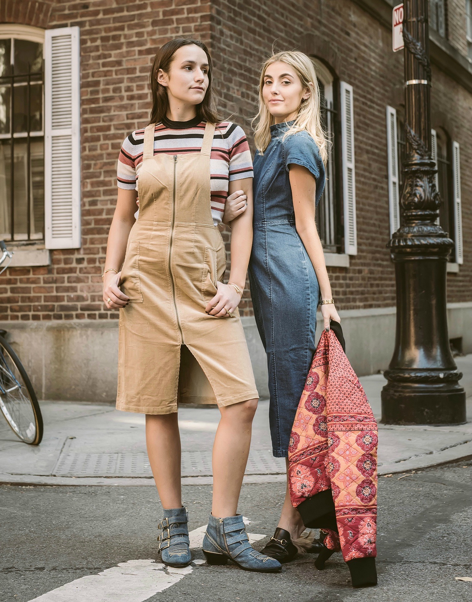 SOPHIE AND CHARLOTTE BICKLEY YIN 2MY YANG FASHION BLOGGERS FOR MINKPINK