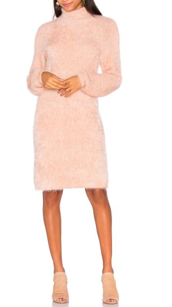 MINKPINK SOFT SERVE SWEATER DRESS