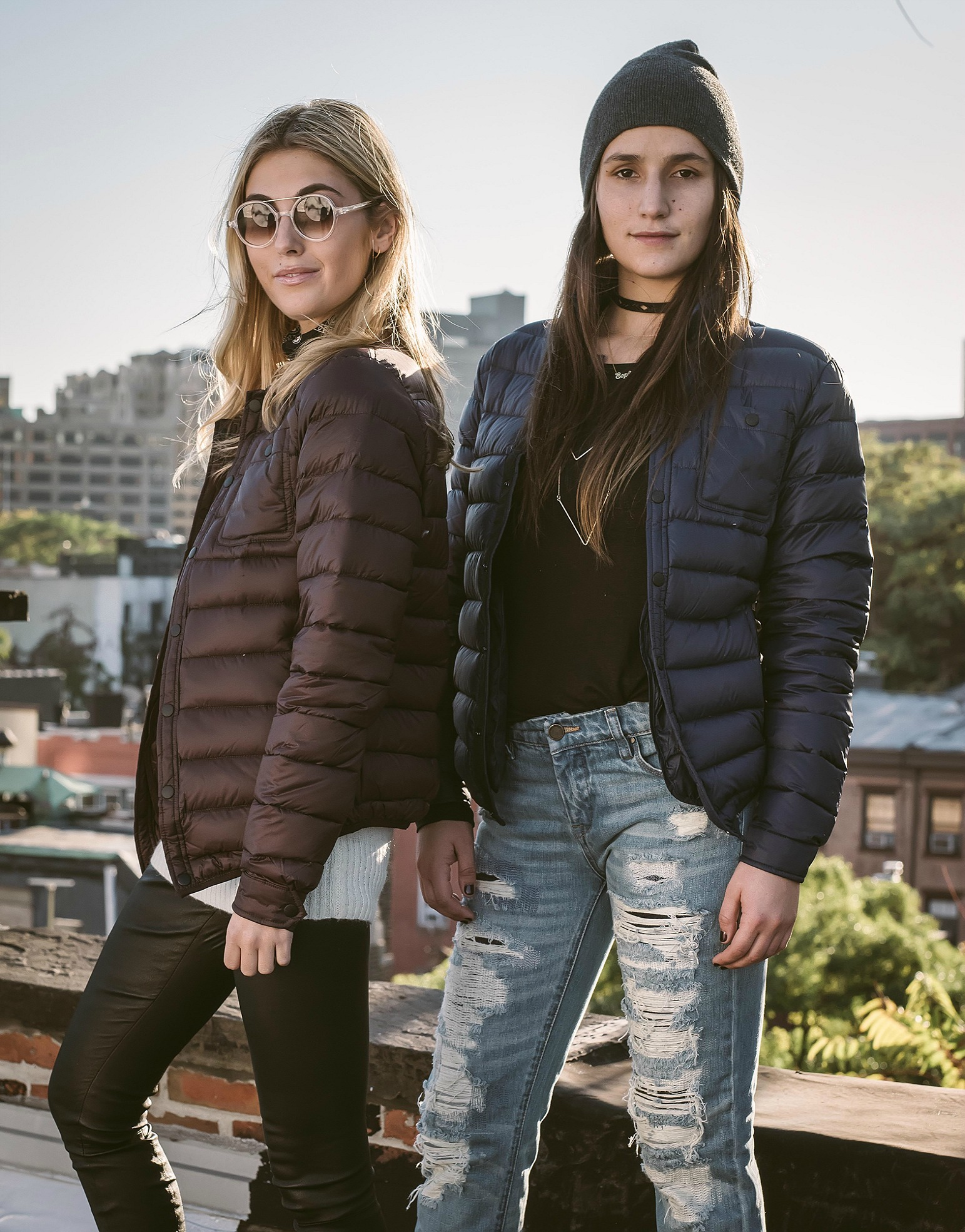 SOPHIE AND CHARLOTTE BICKLEY YIN 2MY YANG SISTER FASHION BLOGGERS SLATE & STONE