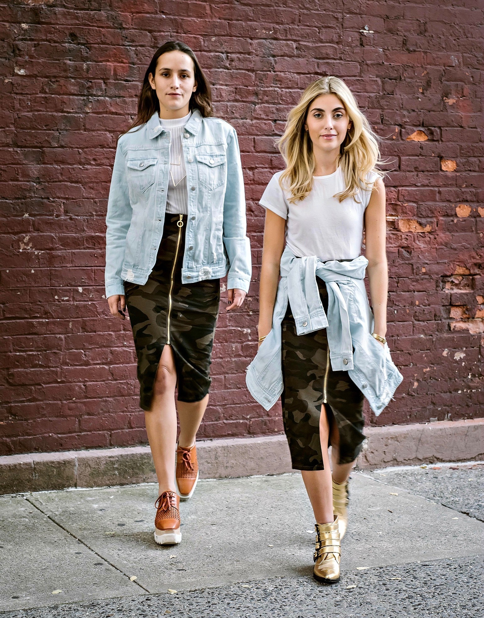 SOPHIE AND CHARLOTTE BICKLEY YIN 2MY YANG SISTER FASHION BLOGGERS NY & CO THUMBNAIL