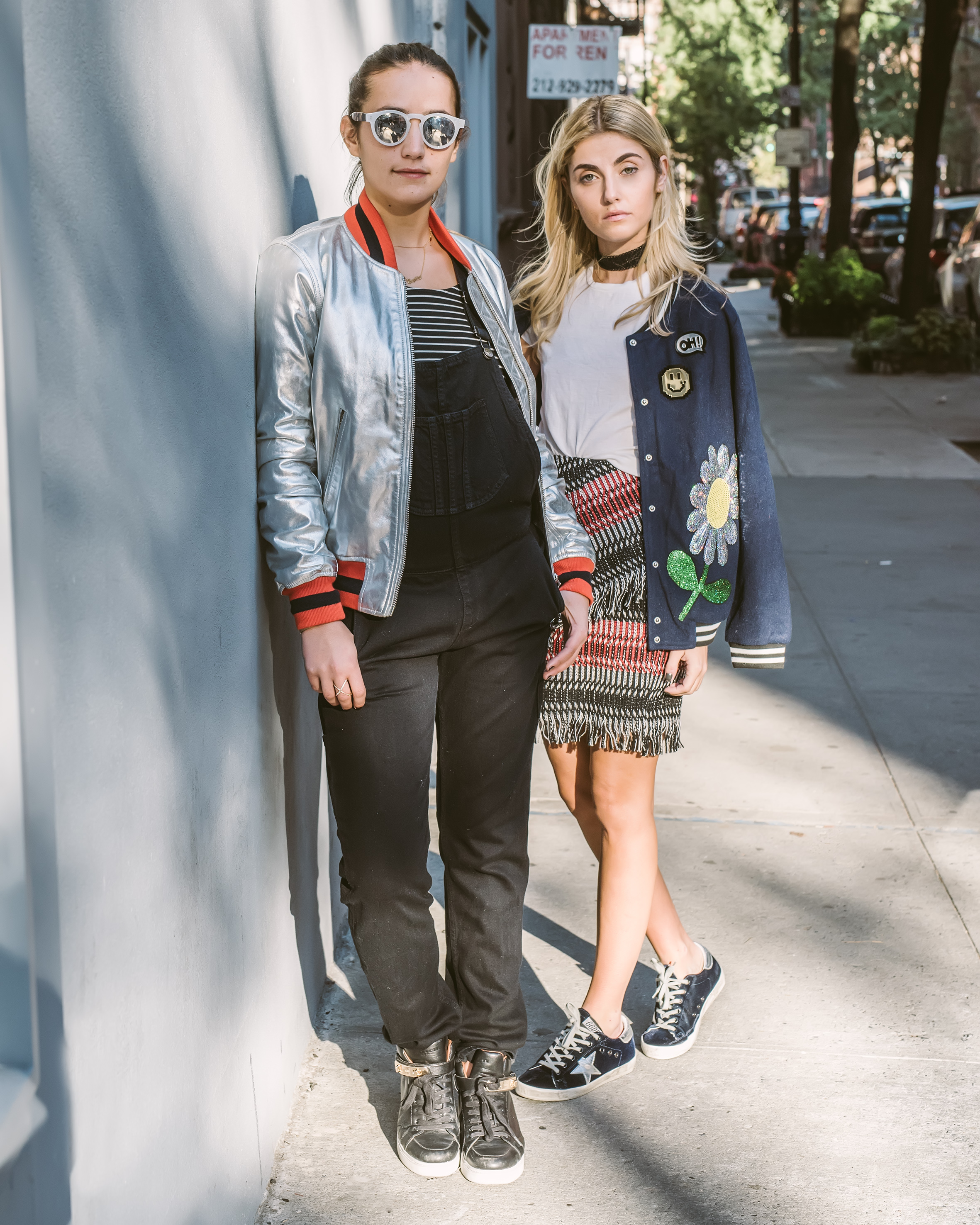 SOPHIE AND CHARLOTTE BICKLEY YIN 2MY YANG FASHION SISTER BLOGGERS BOMBER JACKETS 1.jpg
