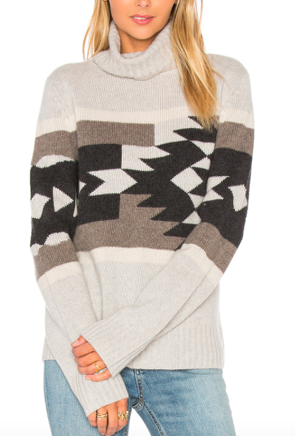 360 SWEATER 'WILLA' TRIBAL SWEATER
