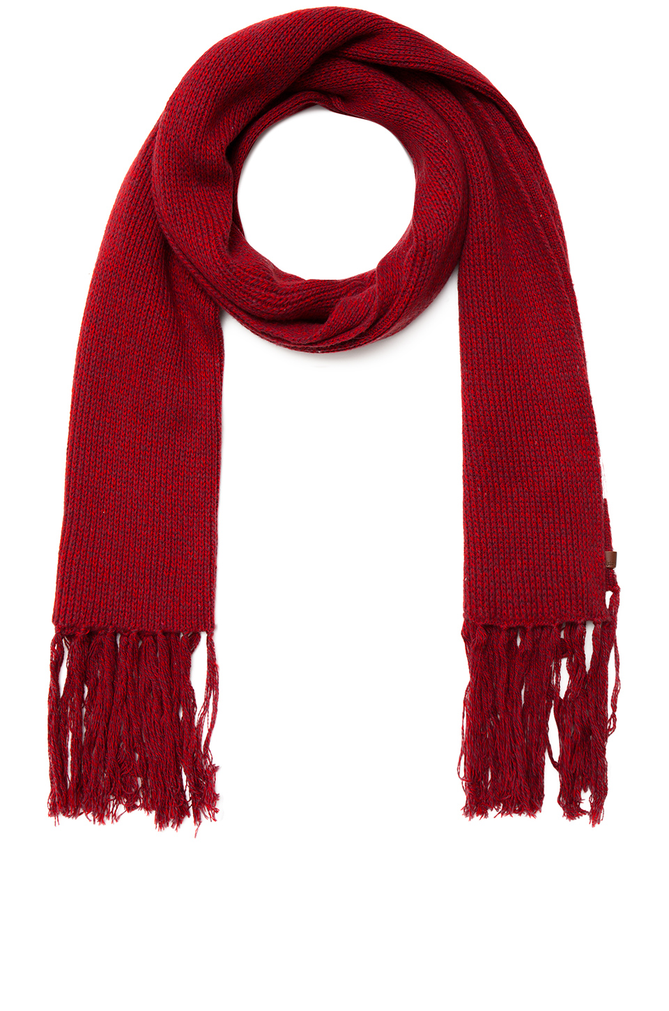 BRIXTON 'ELIAS' RED SCARF