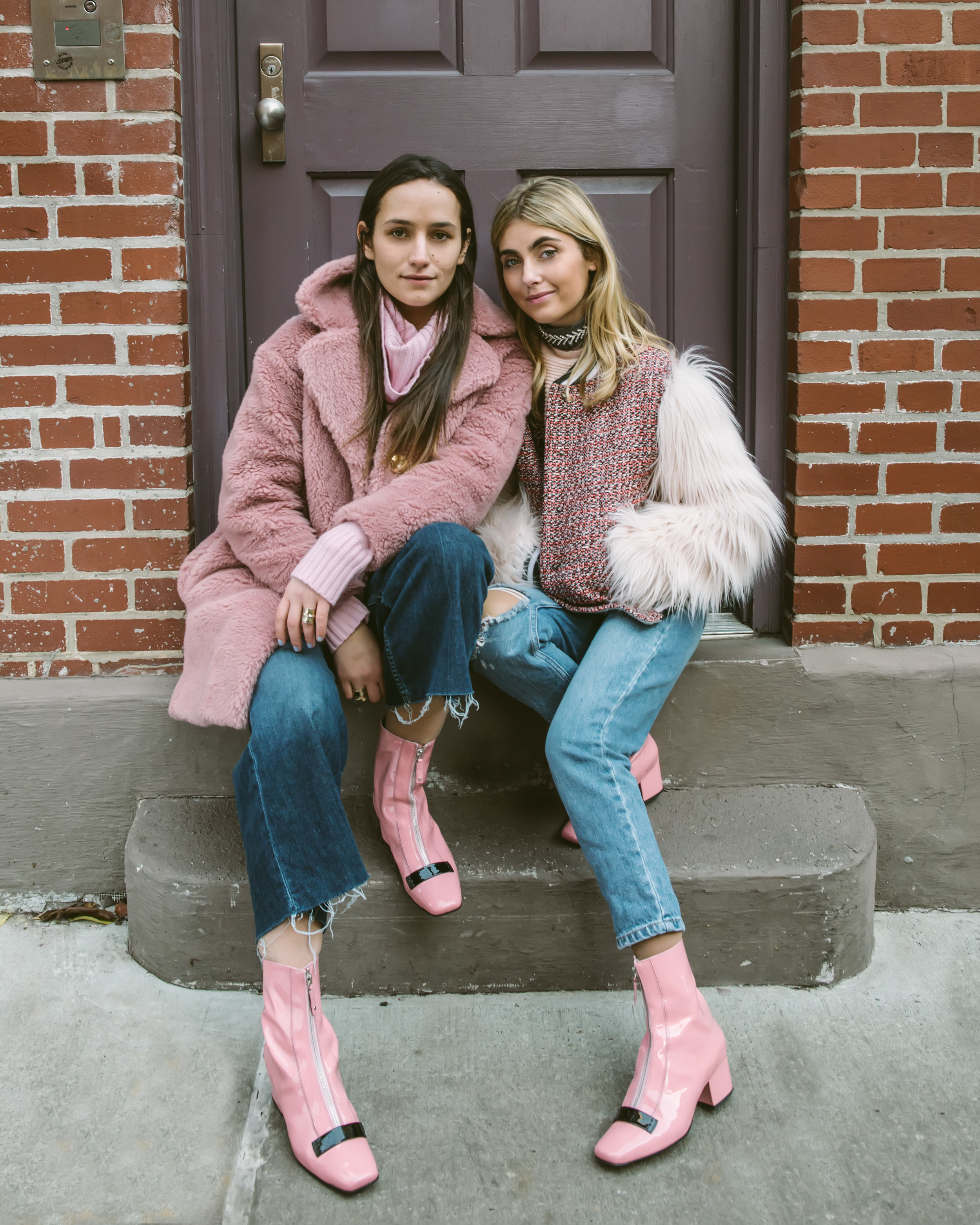 SOPHIE AND CHARLOTTE BICKLEY YIN 2MY YANG PINK TREND
