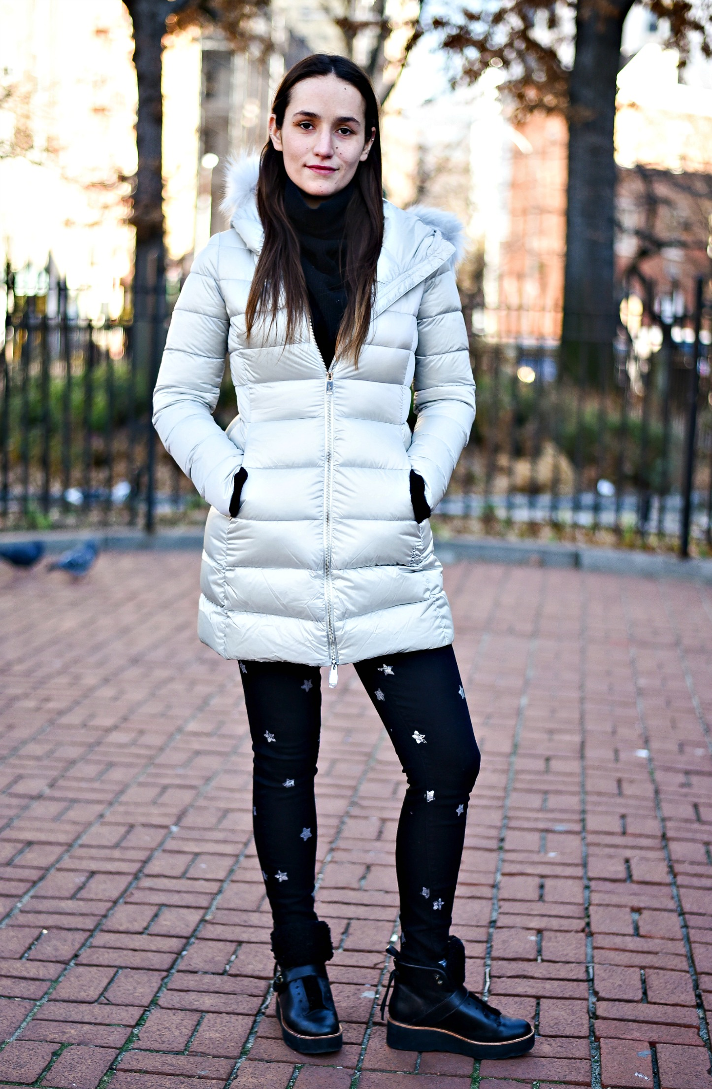 SOPHIE BICKLEY YIN 2MY YANG SISTER FASHION BLOGGERS NYC PUFFER JACKETS