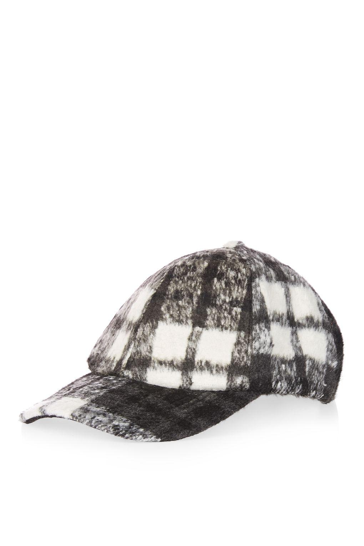TOPSHOP PLAID HAT