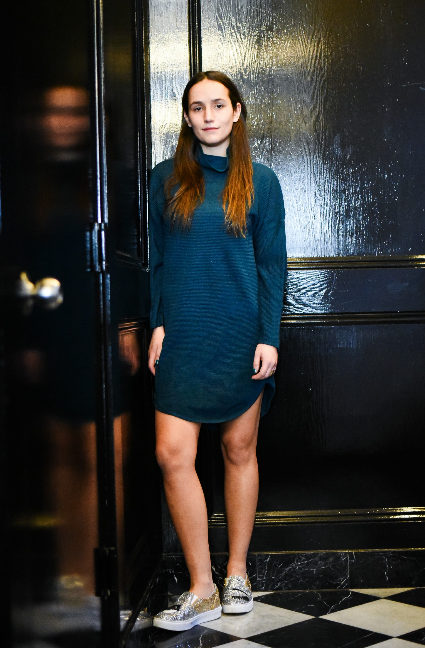 SOPHIE BICKLEY YIN 2MY YANG SISTER FASHION BLOGGERS NYC SWEATER DRESSES POST