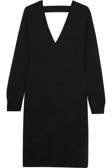 PROENZA SCHOULER CUTOUT MERINO WOOL-BLEND DRESS