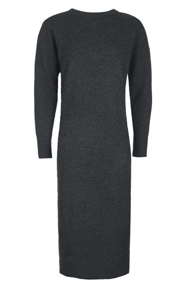 TOPSHOP LUXE CASHMERE LONG SWEATER DRESS