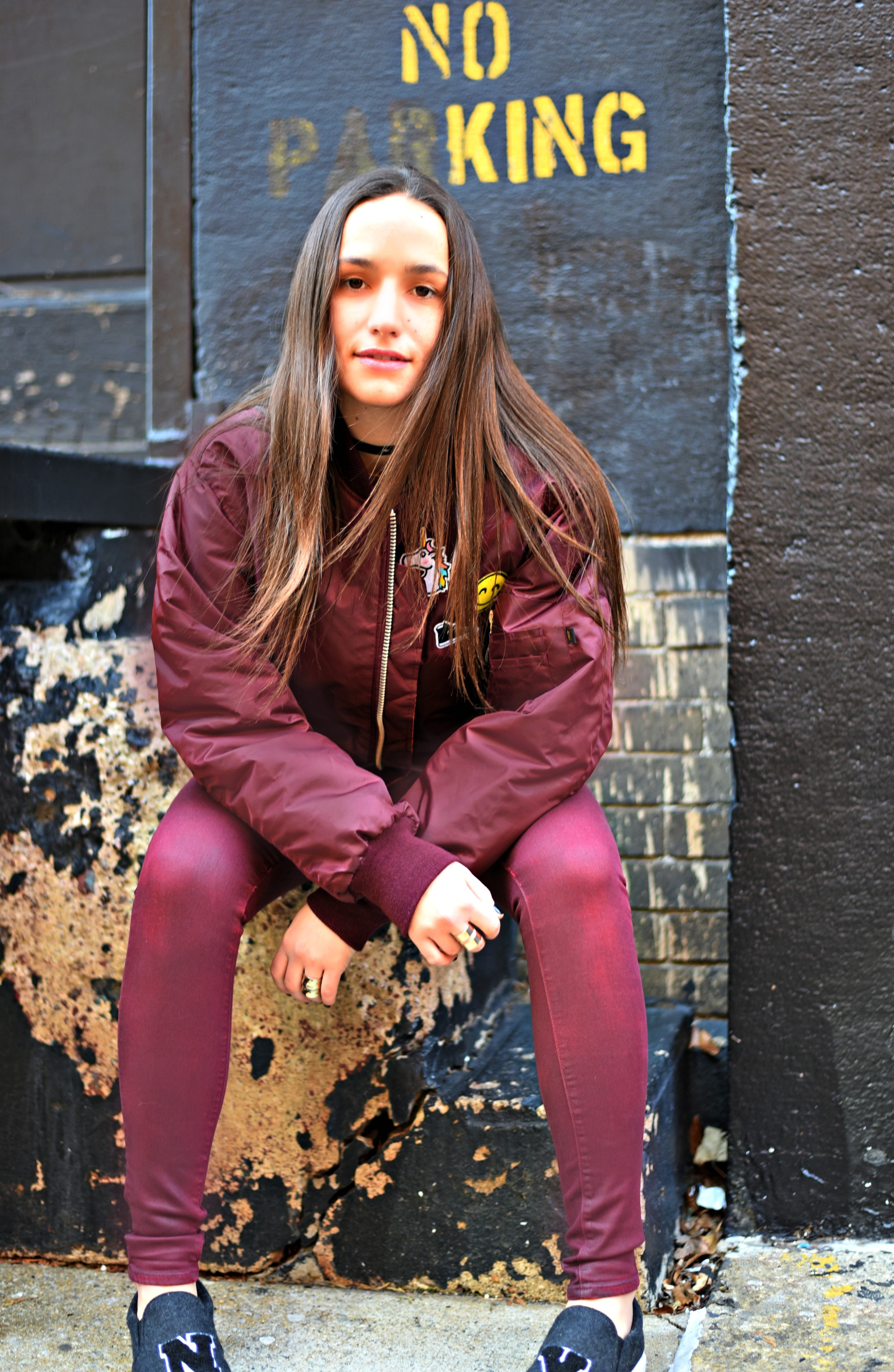 SOPHIE BICKLEY YIN 2MY YANG SISTER FASHION BLOGGERS NYC UNEMPLOYED DENIM PERSONALIZED BOMBER JACKET POST 3.jpg