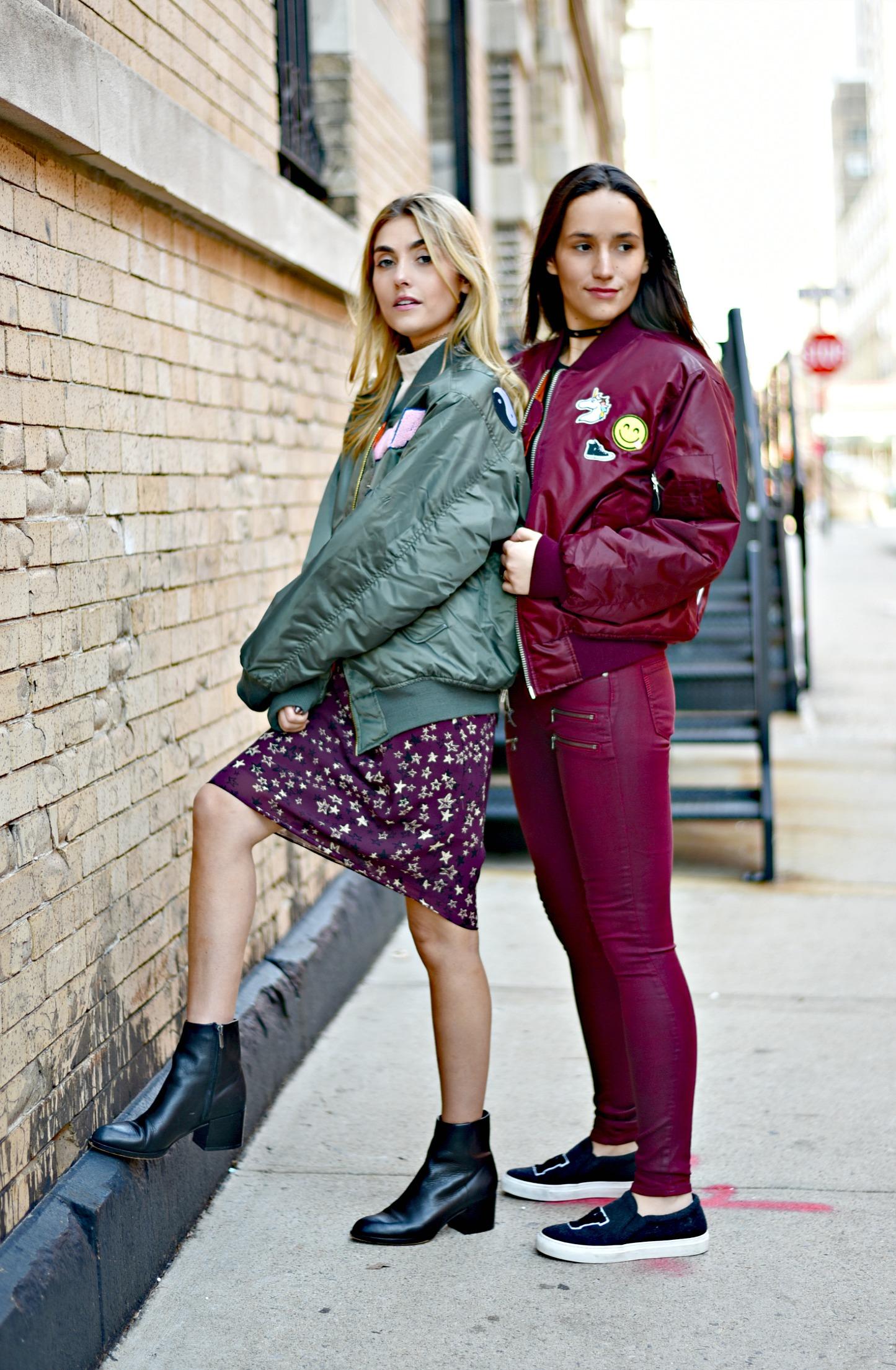 SOPHIE & CHARLOTTE BICKLEY YIN 2MY YANG SISTER FASHION BLOGGERS NYC UNEMPLOYED DENIM POST 1f.jpg