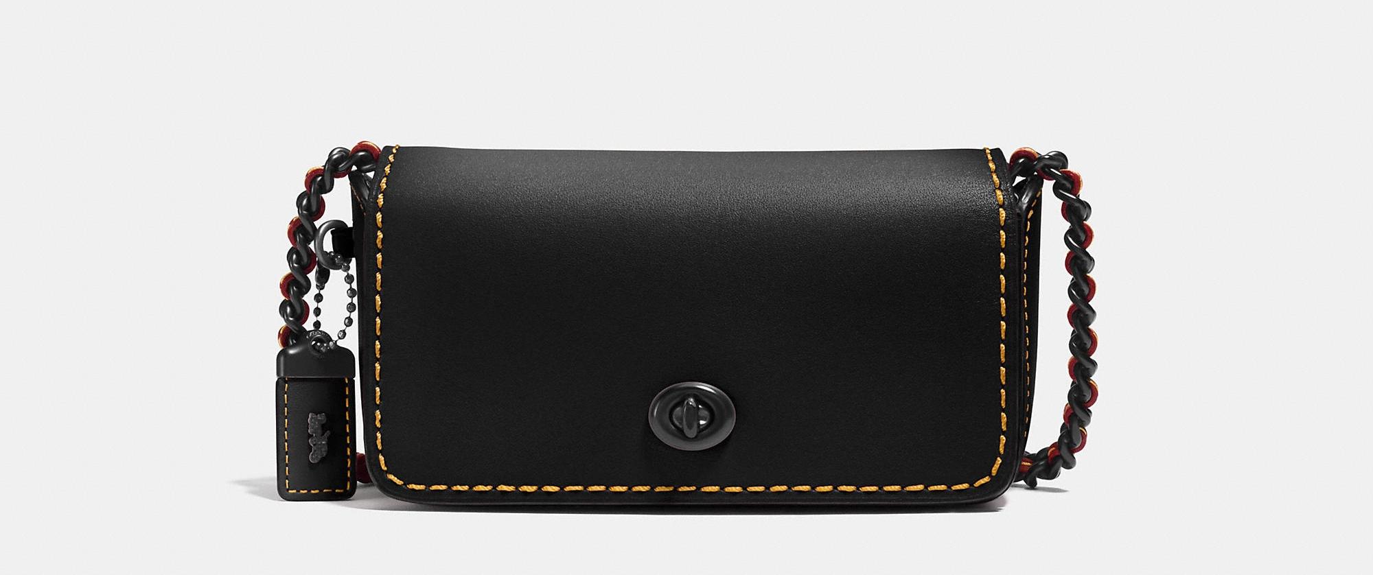 COACH DINKIER BLACK BAG